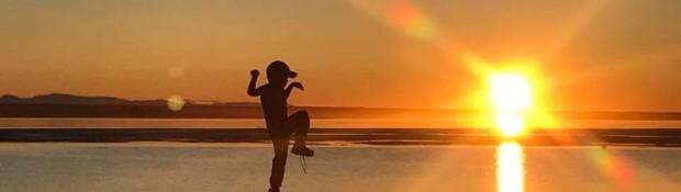Leland Lennie-Andrew, Sahtu Sunset, Norman Wells